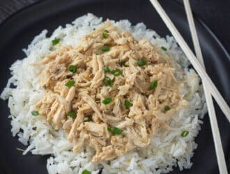 Slow Cooker Garlic Ginger Chicken