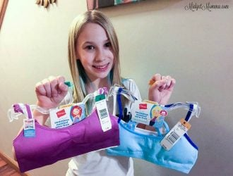 5 Ways to Make Your Tween's First Bra Fun! + $50 Target Gift Card Giveaway!