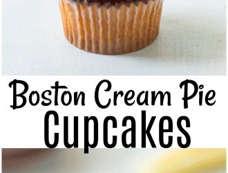 Boston Cream Cupcakes (Tastes like Boston Cream Pie!)