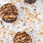 Girl Scout Samoas Cookies Cupcakes