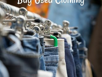 save money buying used clothing