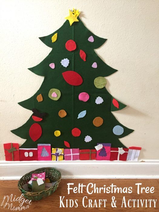 DIY Christmas Tree Playset
