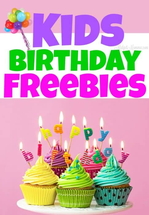 Kids Birthday Freebies