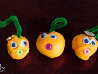 Pumpkin People Play-Doh Halloween Activity