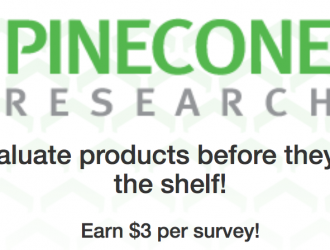 Pinecone Research has Openings!! Earn $3 PER Survey!