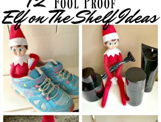 Fool Proof Elf on the Shelf Ideas
