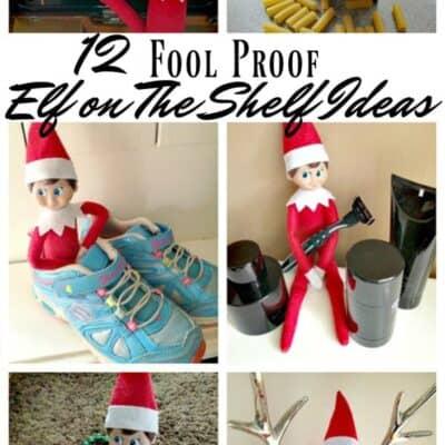 Fool Proof Elf on the Shelf Ideas