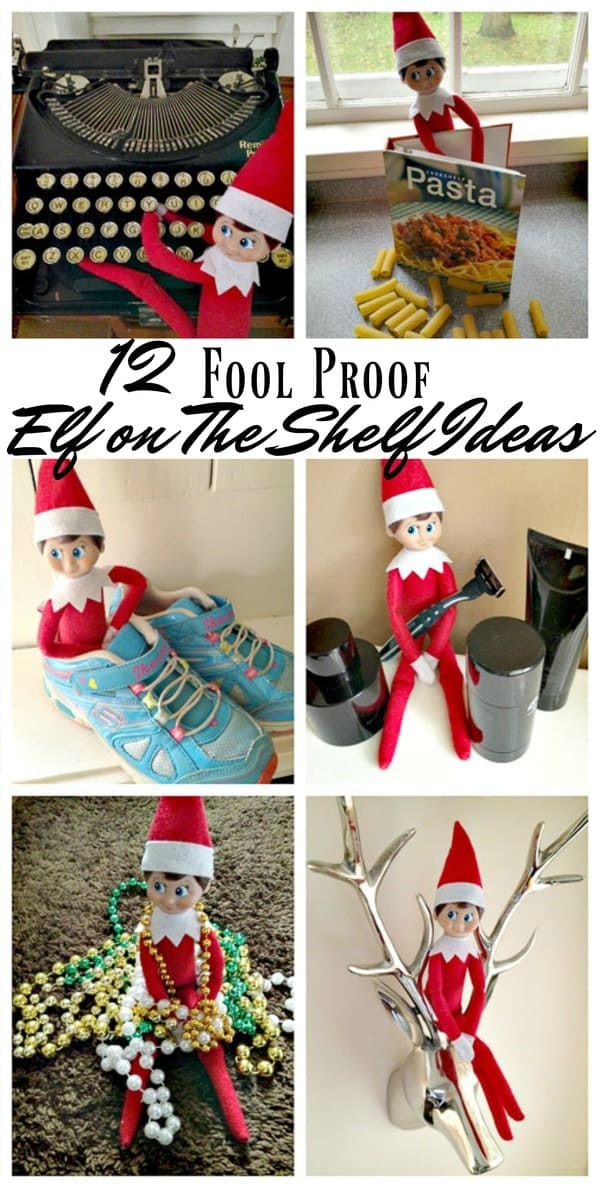 12 fool proof elf on the shelf ideas midgetmomma. Black Bedroom Furniture Sets. Home Design Ideas