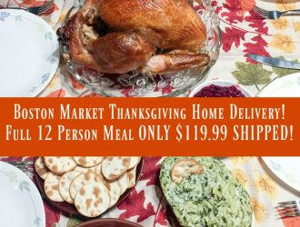Boston Market Thanksgiving Home Delivery! Full 12 Person Meal ONLY $119.99 SHIPPED!
