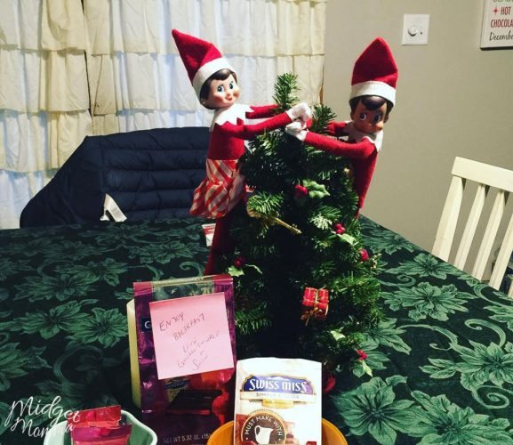 Elf on the Shelf Kitchen Ideas
