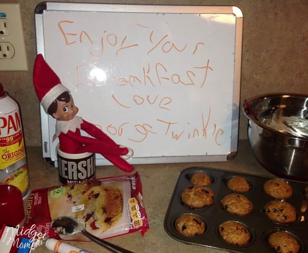 Easy Amp Fun Elf On The Shelf Kitchen Ideas Kids Will Love
