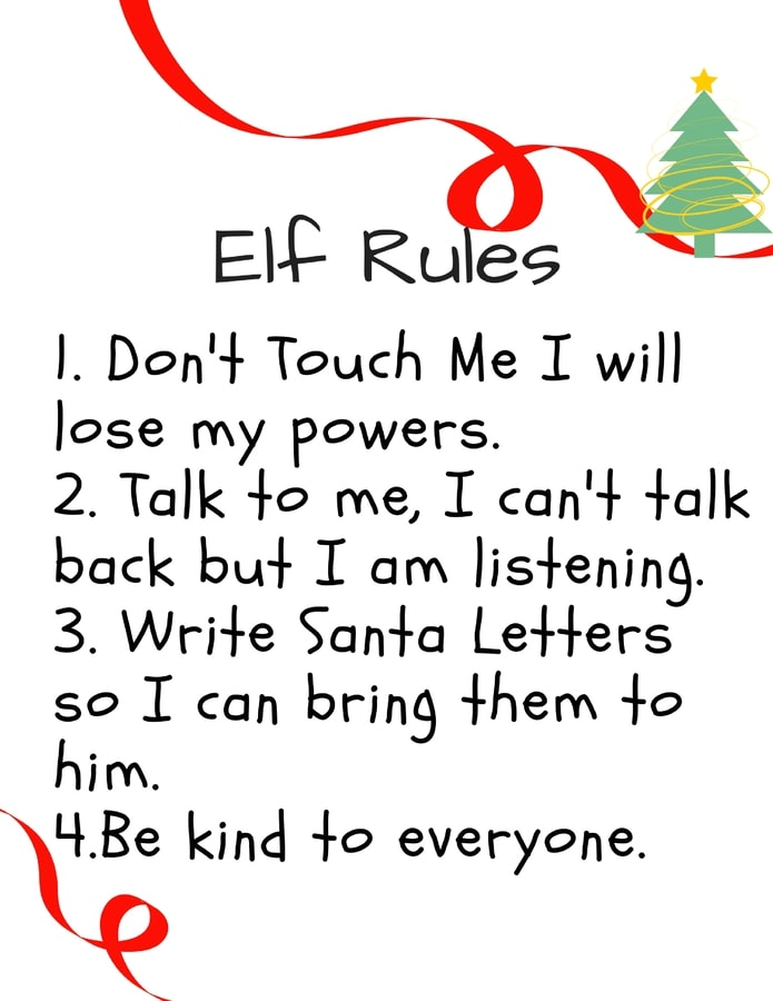 Kids Elf On The Shelf Ideas