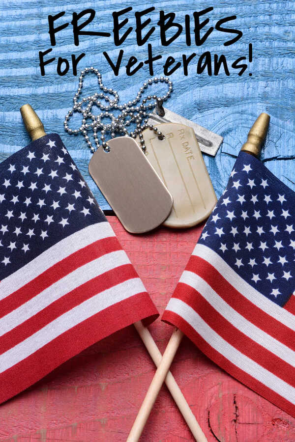 Freebies for Veterans