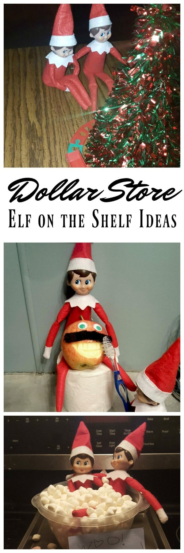 dollar store elf on the shelf toys ideas midgetmomma. Black Bedroom Furniture Sets. Home Design Ideas