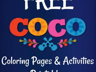 Free Disney's Coco Movie Printable Coloring Pages!