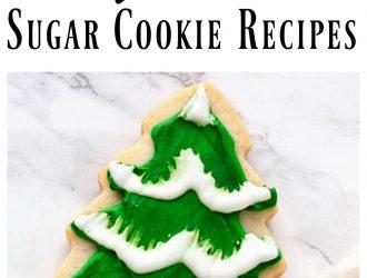7 Beautiful Christmas Sugar Cookie Recipes