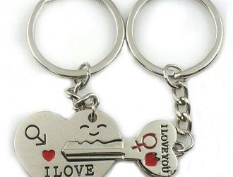 This for Valentine's Day!   Key to My Heart Cute Couple Keychain  $3 Shipped!