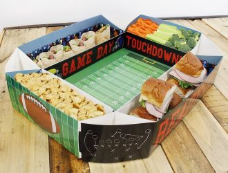 What an awesome Snack Tray for SuperBowl Sunday!