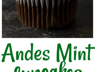 Andes Mint Cupcake