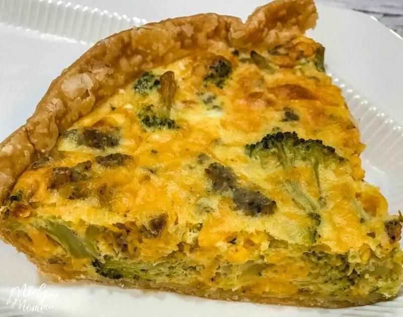 Broccoli Cheddar Quiche Food Network