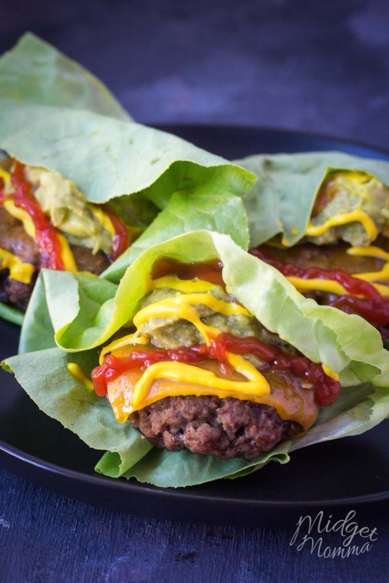 ground beef lettuce wraps