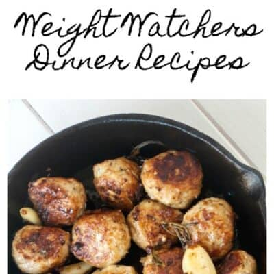 5 Points or Less Weight Watchers Dinner Recipes