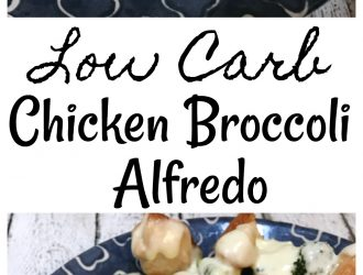Chicken And Broccoli Alfredo {Low Carb}