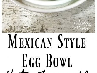 Keto Friendly Mexican Egg Bowl