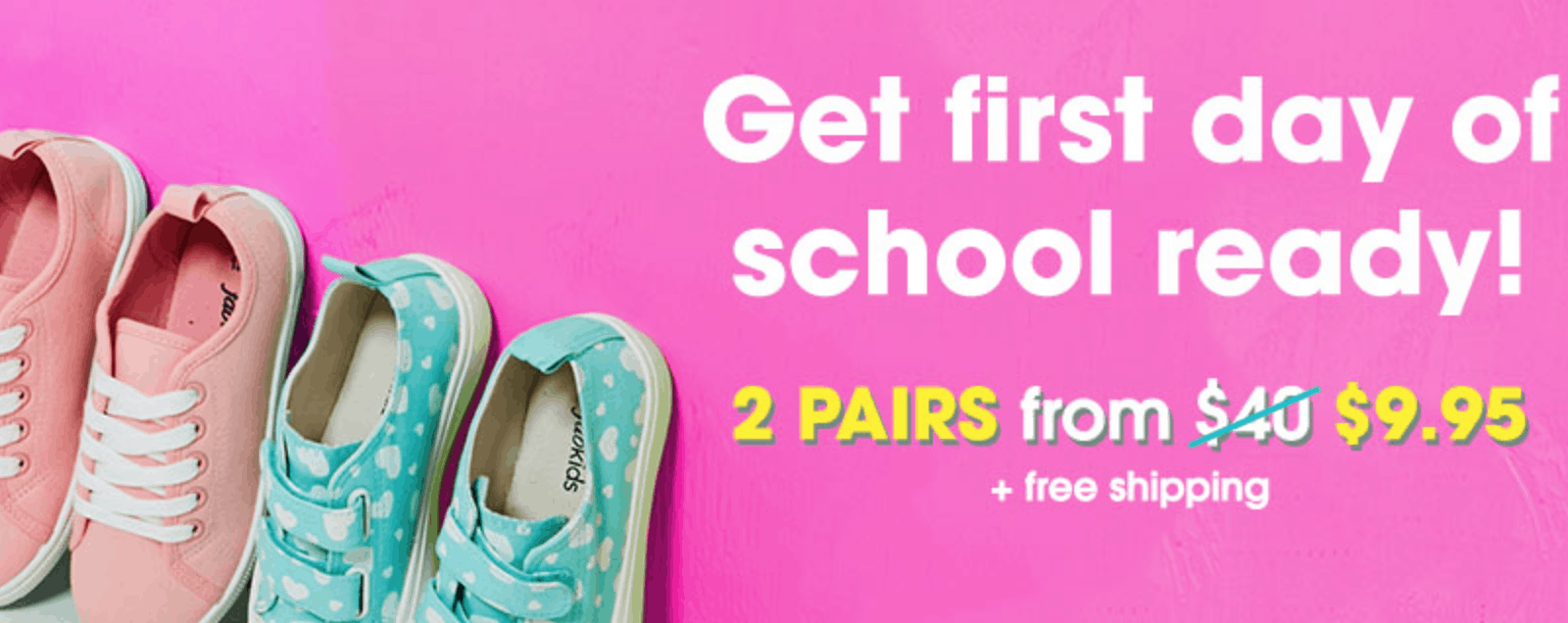 Fabkids shoe deal