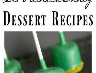 6 Fun & Tasty St. Patrick's Day Dessert Recipes