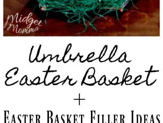 easter basket umbrella