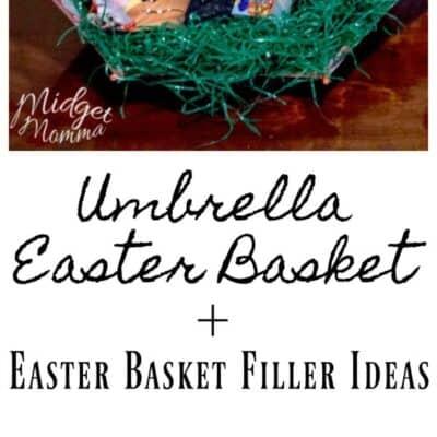 easter basket umbrella