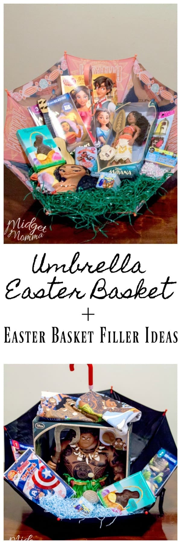 Umbrella Easter Basket & Easter Basket Ideas For Kids