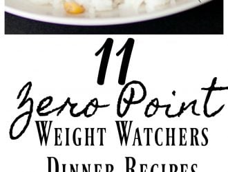 11 Zero Point Weight Watchers Dinner Recipes