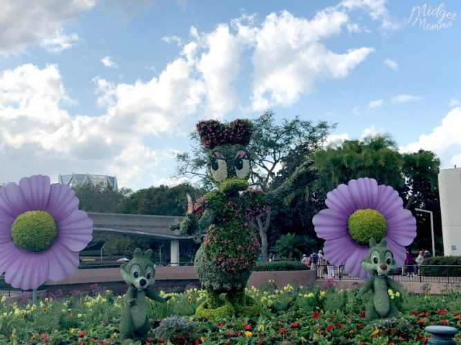 Daisy Duck Disney's Flower And Garden Festival