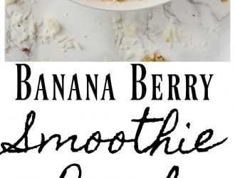 Banana Berry Smoothie Bowl Recipe