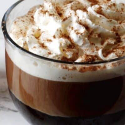 starbucks pumpkin spice latte recipe in a coffee mug