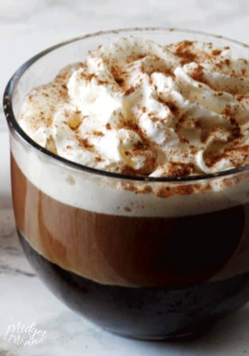 starbucks pumpkin spice latte recipe in a coffee mug