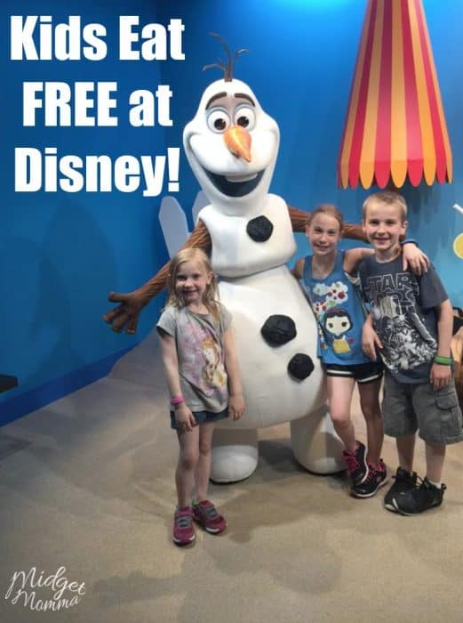 Free Disney Dining Plan For Kids Is Back Midgetmomma