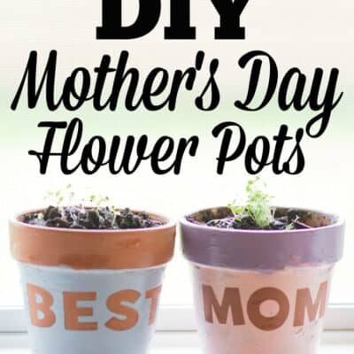 Mother's Day Flower Pots