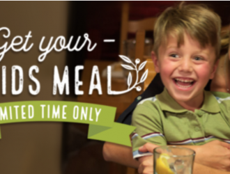Olive Garden Kids Meal Coupon: Kids Eat For Just $1 All Weekend Long!