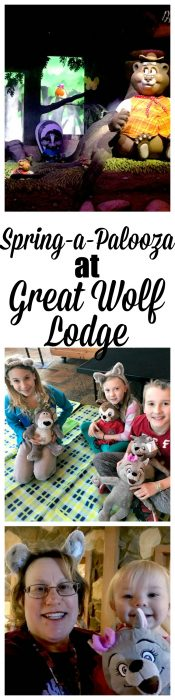 Great Wolf Lodge Poconos has a brand new line up just for the Spring, filled with lots of new activities.