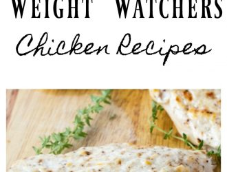23 Weight Watchers Chicken Recipes