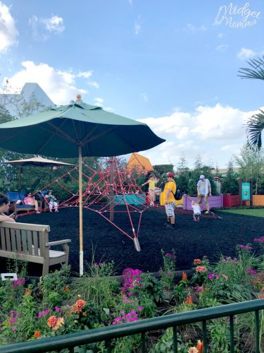 playground for kids at Disney's Epcot
