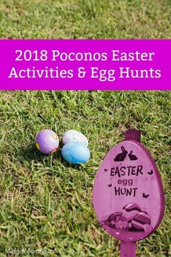 Easter Egg Hunts in the Poconos 2018
