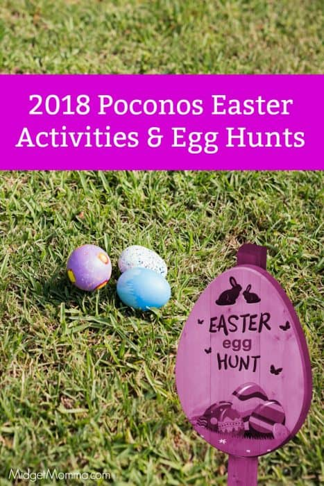Easter Egg Hunts in the Poconos 2018