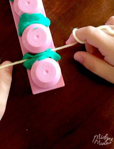 teaching kids to floss