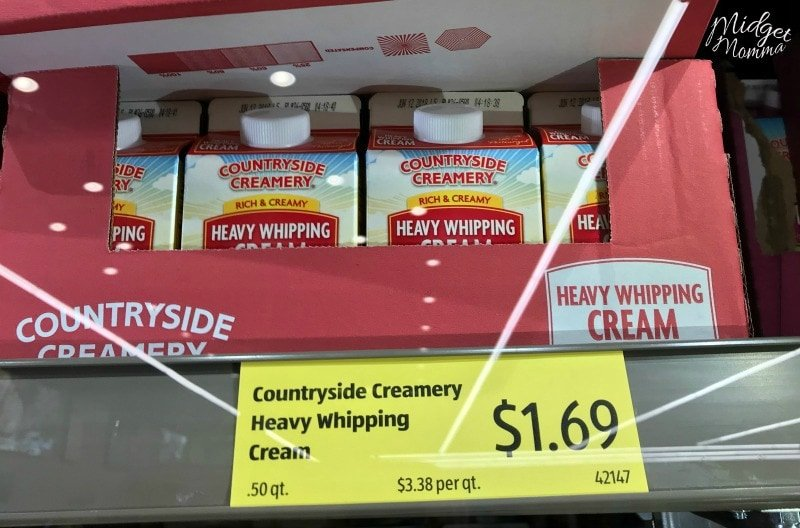 Aldi Heavy Cream