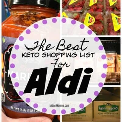 Keto Shopping List for Aldi