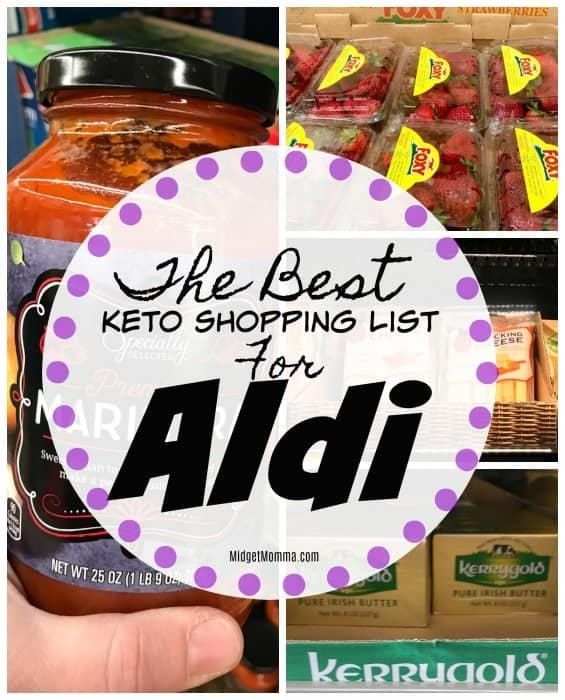 The Best Keto Shopping List for Aldi • MidgetMomma